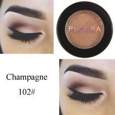 Phoera Makeup Metallic Matte Eyeshadow Palette Cosmetic Shimmer Glitter 06