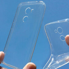 custodia silicone TPU trasparente antishock antiaderente cover per Alcatel A3