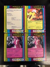 8-Track Cassette Tape LOT of 4 Carole King Neil Young New Riders Rock Folk Pop