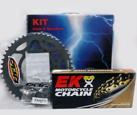 PBR / EK CHAIN & SPROCKETS KIT 520 PITCH COMPATIBLE FOR DUCATI 959 PANIGALE 2016