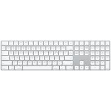Apple Magic Wireless Keyboard with Numeric Pad - Silver