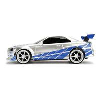 FAST & FURIOUS Brian's Nissan Skyline GT-R BNR34 Remote Control Toy Sports Car