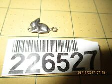 Sterling Silver rabbit bunny charm 226527