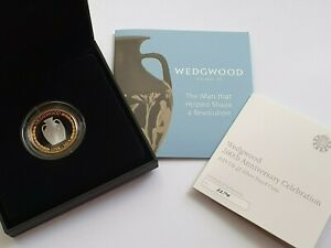 Royal Mint - 2019 Wedgwood - Silver Proof Two Pound £2 Coin - Not perfect