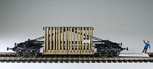 Spiegeltransportwagen H0 aus Bausatz von Schiffer Design, ( nicht Bavaria)
