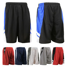 Men's Athletic Workout Sports Fitness Active Lightweight Mesh Basketball Shorts