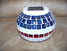 Solar Pentagonal Star Lamp/Jar Outdoor Decor Glass Led
