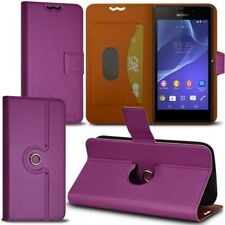 Housse Etui Fonction Support 360 degrés Universel M couleur Violet pour Sony Xpe
