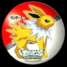 POKEMON STICKER Carte JAPANESE Diam48 RONDE : JOLTEON VOLTALI