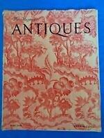 The Magazine Antiques 1945 Richard Derby House Flaxman Chessmen Brocade Costumes