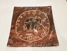 New Pillow Case Cushion Cover with Zip Thai Silk Royal Elephant Sofa Vintage PC3