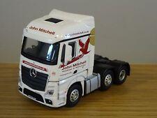 Oxford Diecast JOHN MITCHELL MERCEDES ACTROS MP4 Truck Cab modello 76MB004 1:76