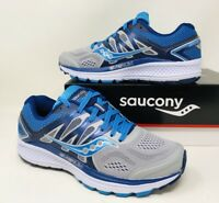 Saucony Women's Omni 16 Running Sneakers Wide Pick A Size Grey/ Blue