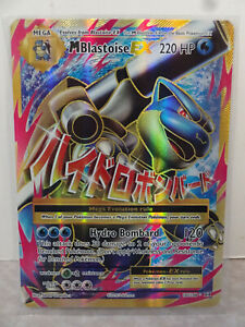 2016 Pokemon XY Evolutions MEGA M Blastoise EX FULL ART #102/108