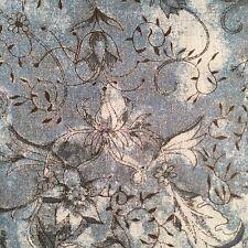 Liberty Tana Lawn Cotton Fabric 'Wild At Heart' Col C Teal Print SAMPLE PIECE