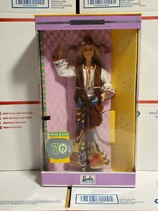 Barbie Doll Peace/Love 70's Barbie Collector Edition-Great Fashions 20th Century