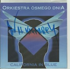 SIGNED JAN A.P. KACZMAREK ORKIESTRA 8 DNIA - CALIFORNIA IN BLUE CD