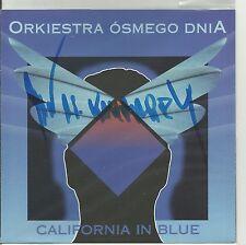 SIGNED JAN A.P. KACZMAREK ORKIESTRA 8 DNIA - CALIFORNIA IN BLUE CD