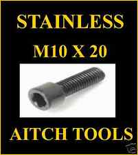 M10 x 20 STAINLESS STEEL SOCKET CAPSCREW+ WASHER.QTY20
