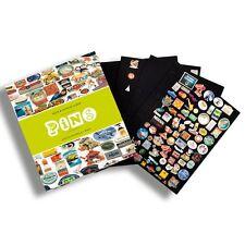 Album GRANDE pour pin's, avec 4 Feuilles velours incluses  Réf  342616