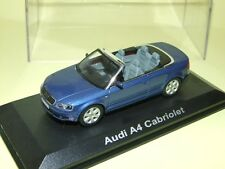 AUDI A4 CABRIOLET Bleu NOREV