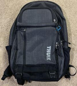 Used THULE Stravan Campus Backpack w/ Padded 9.5x14 Laptop Hard Eyeglass Pockets
