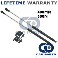 2X UNIVERSAL GAS STRUTS SPRINGS KIT CAR OR CONVERSION 400MM 40CM 600N & BRACKETS