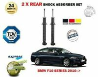 FOR BMW F10 520i 523i 528i 530i 535i 2010-> 2X REAR SHOCK ABSORBER SHOCKER SET