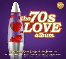 70'S LOVE ALBUM - 60 SONGS OF LOVE (ART GARFUNKEL/T.REX/DOLLY PARTON) 3 CD NEU