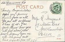 GR Hayward, Merton Road, Walthamstow 1909 - 366 Bearwood Road  JE.1840