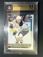 2018-19 Upper Deck Casey Mittelstadt Young Guns Rookie BGS 9.5