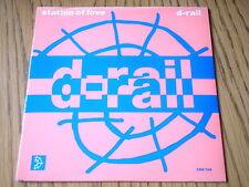 """D-RAIL - STATION OF LOVE   7"""" VINYL PS"""
