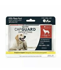 Sentry Capguard Nitenpyram Oral Flea Treatment Tabs 6ct Dogs over 25 lbs B