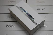 Apple iPhone 5 5G Originalverpackung Karton OVP  Leerverpackung EU Farbe weiss