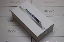 Apple iPhone 5 5G Originalverpackung Karton OVP Leerverpackung EU Farbe silber