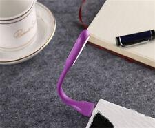 NEW Fashion USB LED Light Flexible Mini Lamp for Computer Laptop Reading Purple