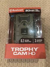 Bushnell 119874C 20MP Aggressor Low Glow Trophy Trail Camera