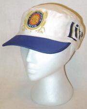 Vtg 1980s Painters Hat MILLER LITE BEER high life cycling beach cap bud light