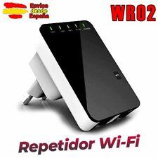 REPETIDOR AMPLIFICADOR WIFI ROUTER WR02 WPS ENVIO DESDE ESPAÑA N 802.11 X