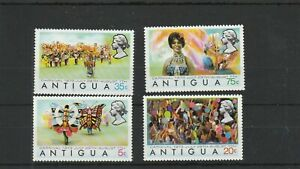 Antigua 1973  Carnival  set of 4 values MNH  scan 1074