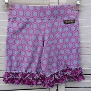 Matilda Jane It's A Wonderful Parade Riddle Shorties Purple Shorts Size 12