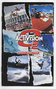 Activision O2 Sports Revolution Sony Playstation 2 Ad Insert Booklet PS2