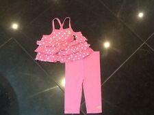 Juicy Couture Nuevo & Gen. Bebé Niñas Algodón Top & Pantalones 6/12 mths & jugoso logotipo