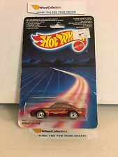 #4  Porsche 959 4631 * RED * 1986 Malaysia * Vintage Hot Wheels * E38
