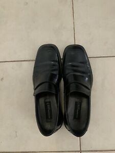 Kenneth Cole size 10 US mens black shoes - made In Italy