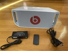 Beats By Dre Beatbox Portable Wireless Bluetooth Speaker White. Full Size.