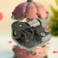 18 Tone Metal Musical Movement Wind Up Mechanism Musix DIY Decor Box Parts CL