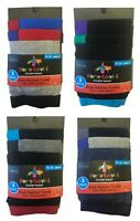 New Kid's Boys 3 Pack Ex Chainstore Fashion Colours Trunks Cotton Boxer shorts