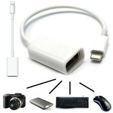 Apple lightning Male to USB Female OTG Adapter Cable for iPhone iPad Keyboard