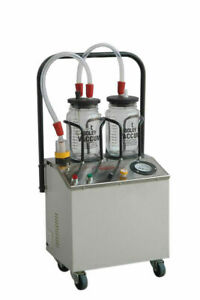 Suction Machine 1/4 Horse Power with Double Unbreakable Jars (Ent & Dental) AGE1